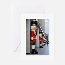 Nutcrackers in NYC Greeting Cards