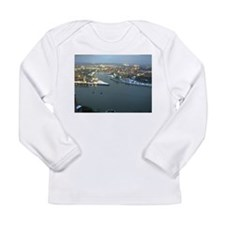 Rhine river & Mosel winter Long Sleeve Infant T-Sh