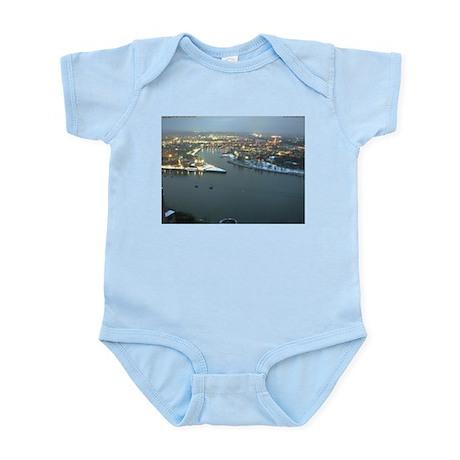 Rhine river & Mosel winter Infant Bodysuit
