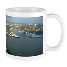 Rhine river & Mosel winter Mug