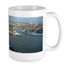 Rhine river & Mosel winter Mug