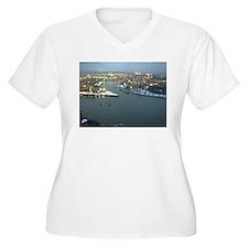 Rhine river & Mosel winter T-Shirt
