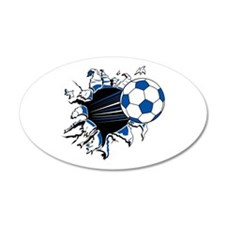 Cute Soccer Wall Decal