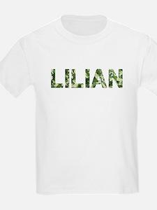 Lilian, Vintage Camo, T-Shirt