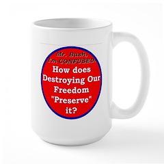 Preserve Freedom Large Mug