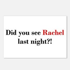 Rachel Fan Postcards (Package of 8)