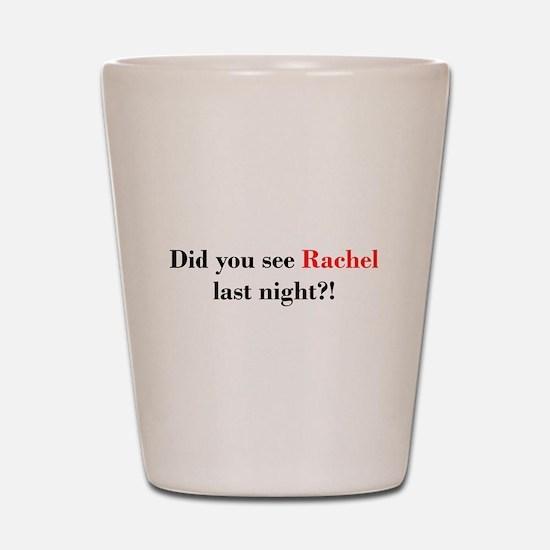 Rachel Fan Shot Glass