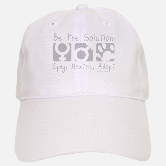 Be The Solution (one color) Baseball Baseball Cap