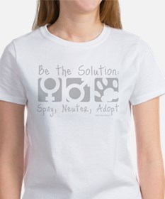 Be The Solution (one color) Women's T-Shirt
