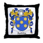 Antillo Coat of Arms Throw Pillow