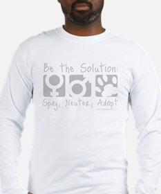 Be The Solution (one color) Long Sleeve T-Shirt
