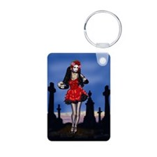 Dia de los Muertos Pin-up Keychains
