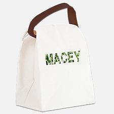 Macey, Vintage Camo, Canvas Lunch Bag