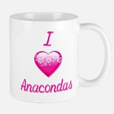 I Love/Heart Anacondas Mug