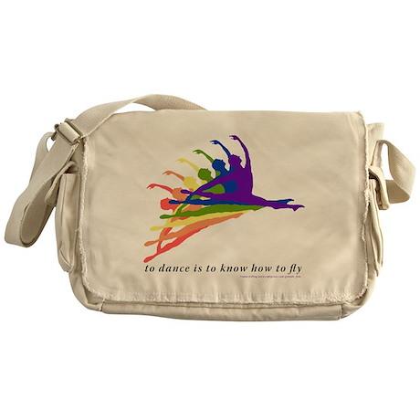 Rainbow Jete Messenger Bag