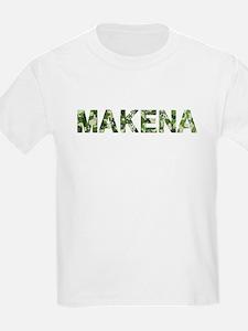 Makena, Vintage Camo, T-Shirt
