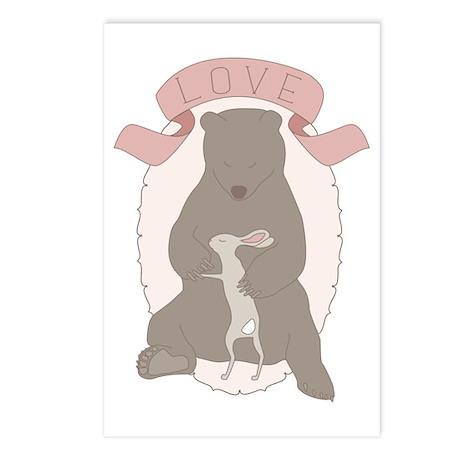 Bear Hug Postcards (Package of 8)