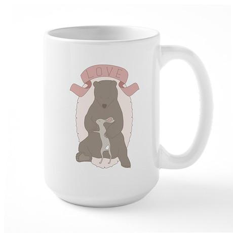 Bear Hug Large Mug