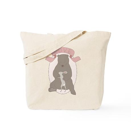Bear Hug Tote Bag