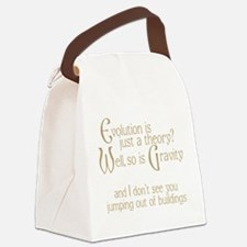 Evolutionary Theory Canvas Lunch Bag