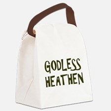 Godless Heathen Canvas Lunch Bag