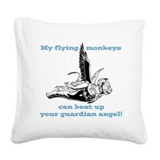 flyingmonkey.png Square Canvas Pillow