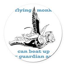 flyingmonkey.png Round Car Magnet