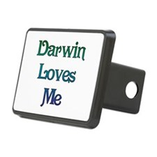 Darwin Loves Me Hitch Cover