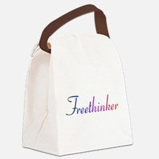 freethinker.png Canvas Lunch Bag