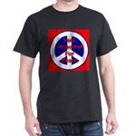 Vote Democrat for Peace First Dark T-Shirt