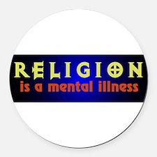 mentalillness.png Round Car Magnet