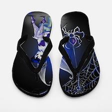 Spider Gothic Fairy Flip Flops