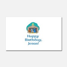 Happy Birthday Jesus Car Magnet 20 x 12