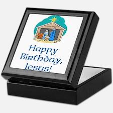 Happy Birthday Jesus Keepsake Box