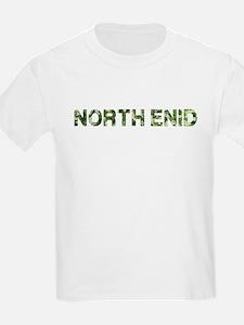 North Enid, Vintage Camo, T-Shirt