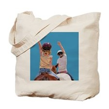 Follow Your Heart Horse Tote Bag