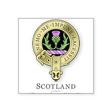 Flower of Scotland Rectangle Sticker