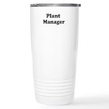 Plant Manager Travel Mug