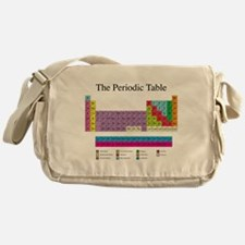 Cute Periodic table Messenger Bag