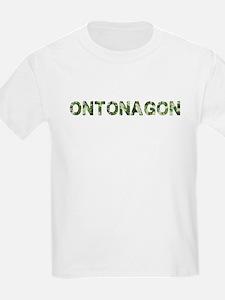 Ontonagon, Vintage Camo, T-Shirt