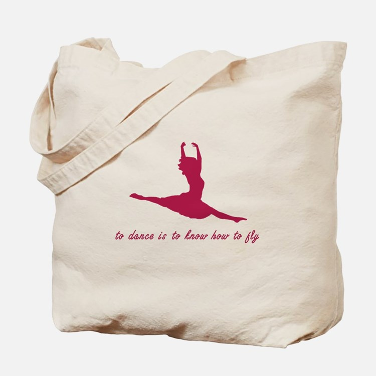 To Dance, To Fly Tote Bag