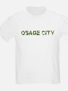 Osage City, Vintage Camo, T-Shirt