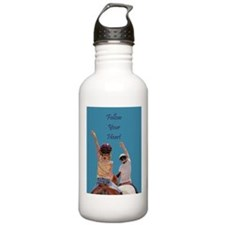 Follow Your Heart Horse Water Bottle