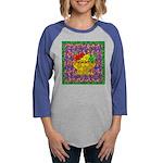 mosaic fruit copy.png Womens Baseball Tee
