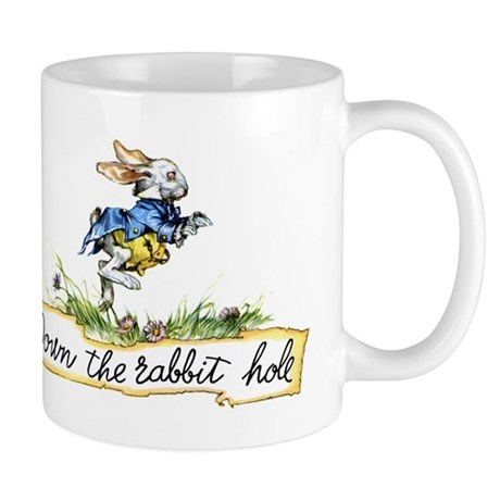 Down the Rabbit Hole Mug