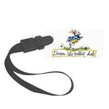 Down the Rabbit Hole Luggage Tag
