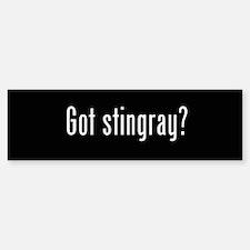 Got Stingray Bumper Car Car Sticker