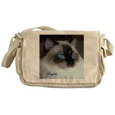 Funny Cat Messenger Bag