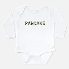Pancake, Vintage Camo, Long Sleeve Infant Bodysuit