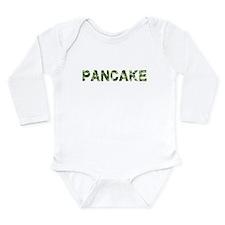 Pancake, Vintage Camo, Onesie Romper Suit